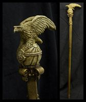 Imperial walking stick by ZombieArmadillo
