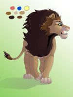 New Lion (old) by JessiRenee