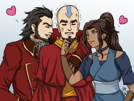LoK - Sibling Trio by Athyra