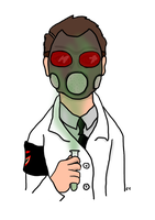 Batman WWII: Dr. Crane by TheSimpsonsFanGirl