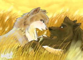 First Kiss Memory by NayruLocksley