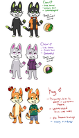 Cats by Fox-mutts