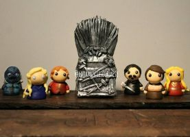 Game of Thrones Polimer Clay by artesladybug