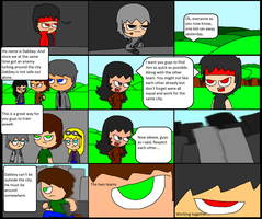 Dabbey The Brawler page31 ''Unexpected Team Work'' by DabZen