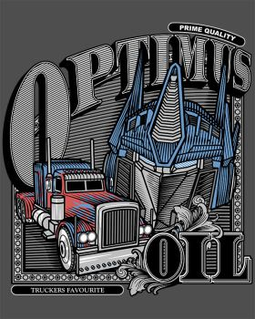 Optimus Oil. by JCMaziu