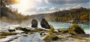 Rheinfall by ABRA-ART