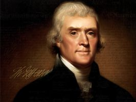 Thomas Jefferson by RafkinsWarning