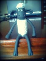 Shaun the Sheep by JessicaGuia
