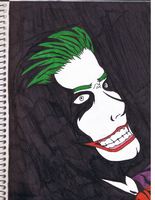 Joker- Arkham Asylum Tribute by xBeatx