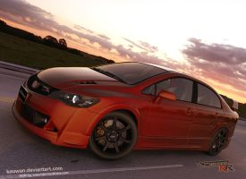 honda civic mugen RR by dwiirawan