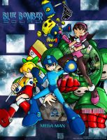 The Blue Bomber Squad by NewEraOutlaw