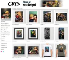Cris Society6 store: Framed art, posters and more! by Cris-Art