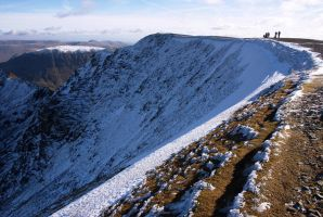 Helvellyn Summit by scotto