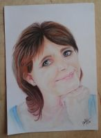 Portrait of my mum, Mary :) by Liaram