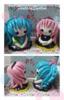 Vocaloid: Miku and Luka Dolls by FantasySystem