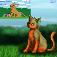 4 Year Difference  by AquatheOhioKitty