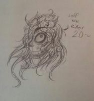 Jeff the Killer 2.0 Sketch-- by King-of-Creeps
