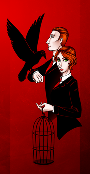 Bird or Cage? by HechiceraRip