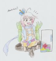 Mwahaha! I am the tetris god! by KunoichiAyu
