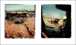 Bombay Beach, Salton Sea by myownself