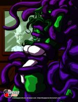 She Hulk tentacles experiment by thegagster