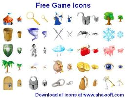 Free Game Icons by Ikont