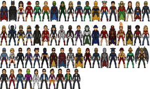 DC Universe Heroes 2020 by Alexander514