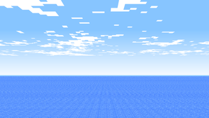 Minecraft Background 'Sea' by JabJabJab