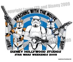 Star Wars Weekend T-shirt Back by seanforney