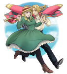 Fullmetal's Moving Castle by Fenchan