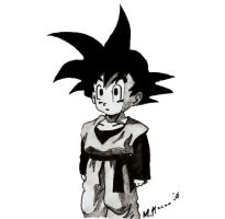 Goten short hair by myworldmycapture