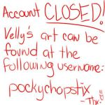 ACCOUNT CLOSED New Account by Vel-chan