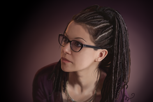 Tatiana Maslany as Cosima in Orphan Black by Sethyel