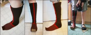 Aang Boots by RainOwls
