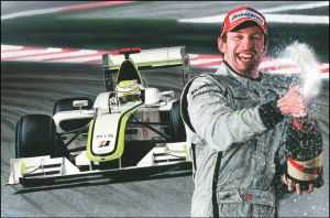 Jenson Button by caldwellart