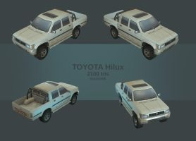 Toyota Hilux by monorok