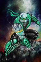 Chameleon-Mortal Kombat..Now you see me.. by Grapiqkad