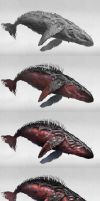 Red Whale Making Of by ArtistMEF