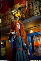 Merida: In A Foreign Land by kanracakes