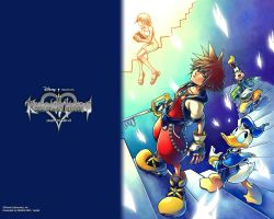 kingdom hearts by Saiyanteddy