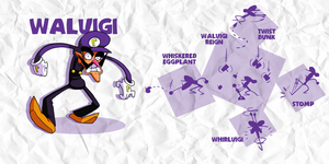 SMASH: WALUIGI by professorfandango
