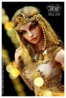 Egyptian Goddess 2 by Nigelchia
