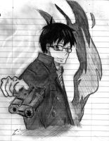 Yukio- Ao No Exorcist Request by mangart96