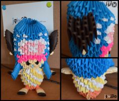 3D Origami - Tony Tony Chopper (One Piece) by Jobe3DO