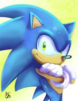 Sonic the Hedgehog by BlueAlacrity