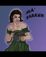 'Ma' Barker by bloodfilledlungs