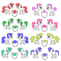Manes and Tails by Sugarcup91