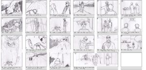 """Storyboard for """"System Freeze"""" story by RyanVP"""