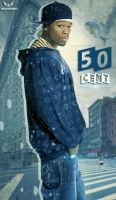 50 CENT by Man-Graphics