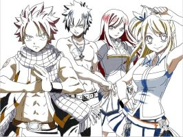 Team Fairy Tail (shade only) by yasminload63
